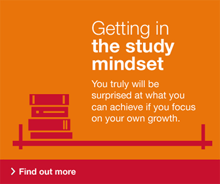 Getting in the study mindset